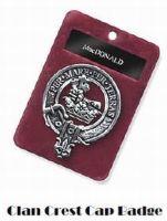 Clan Crest Cap Badge