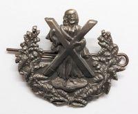 Queen's Own Cameron Highlanders Large Sporran- Cap Badge