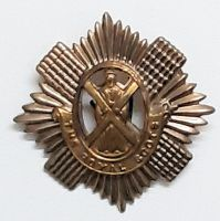 The Royal Scots Regiment Cap Badge